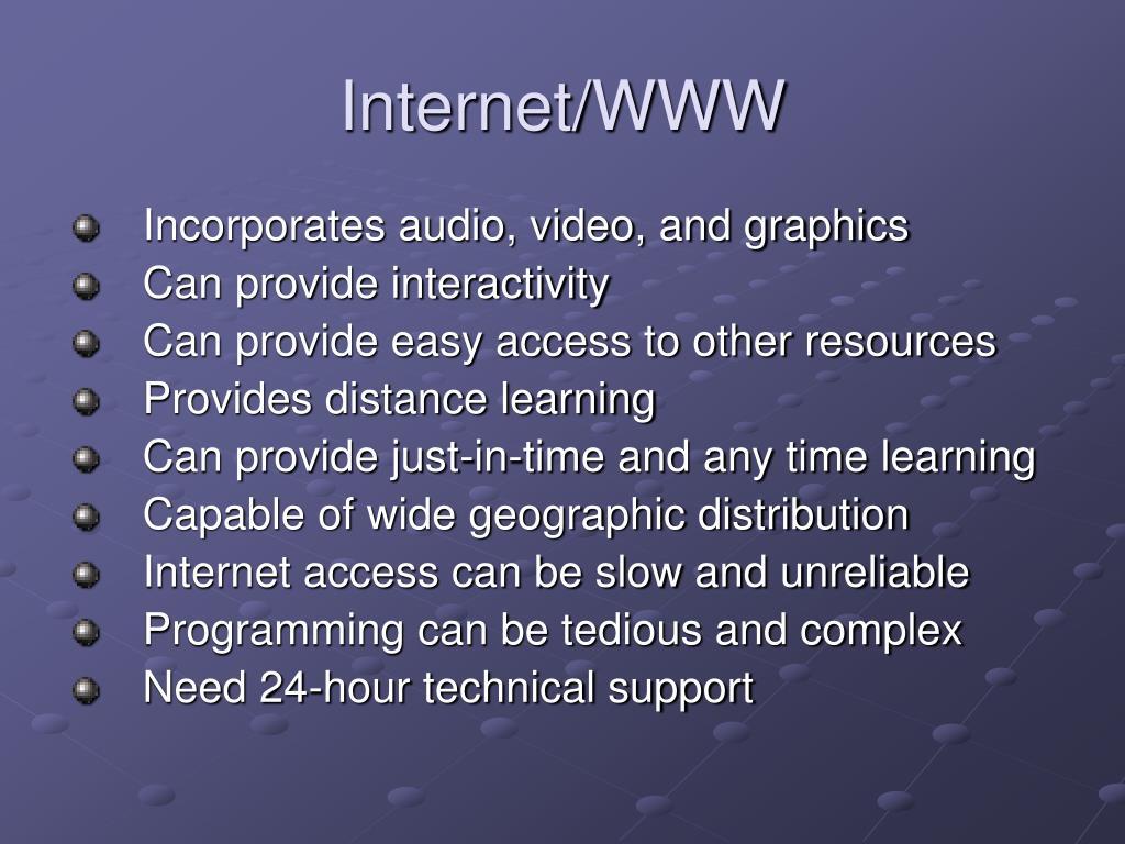 Internet/WWW