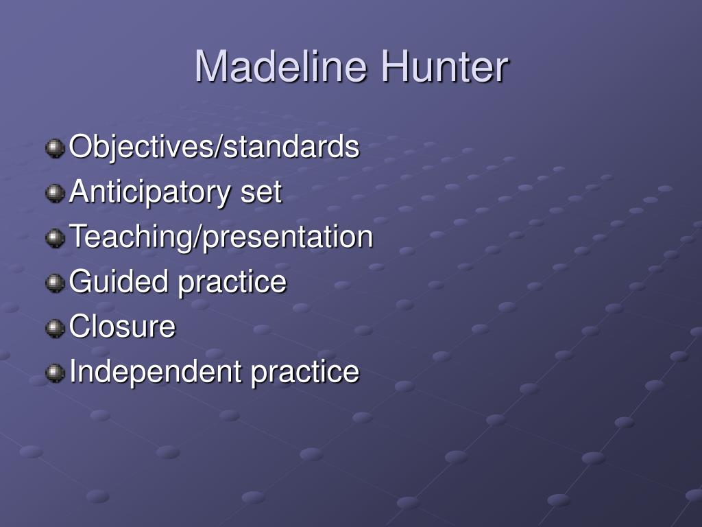 Madeline Hunter