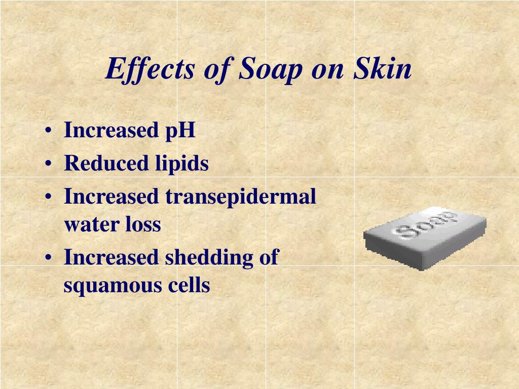 Effects of Soap on Skin