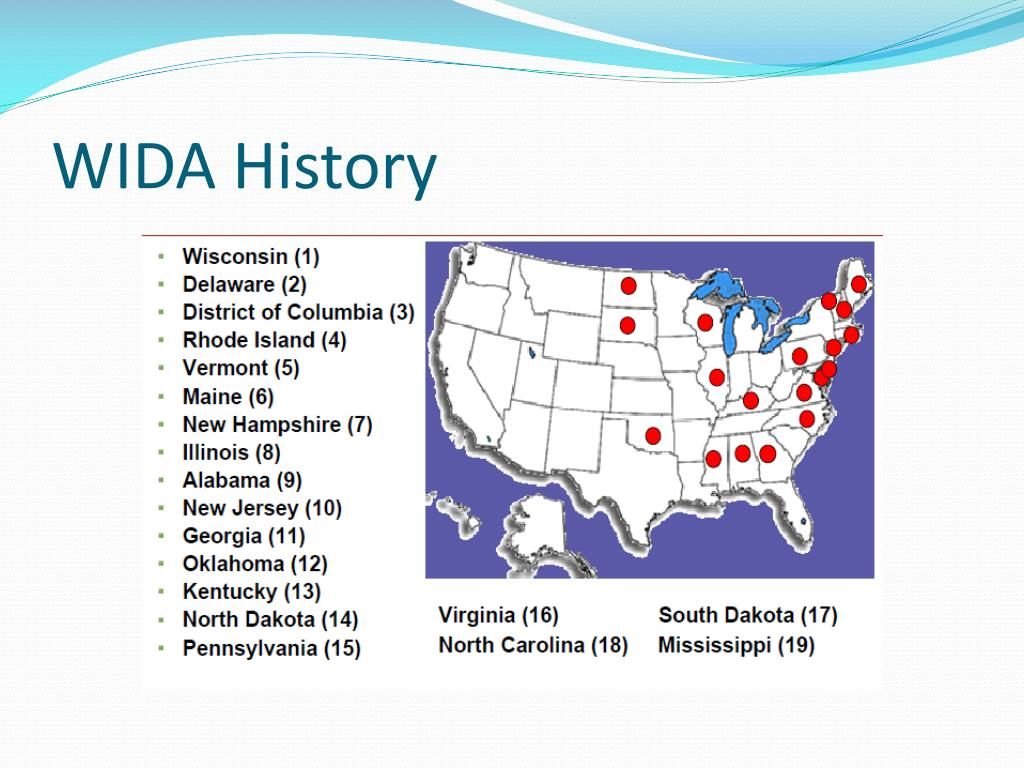 ppt the wida174 standards powerpoint presentation id320857