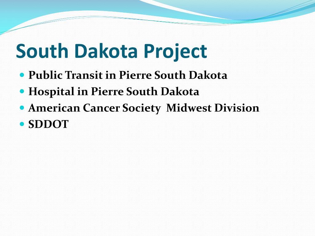 South Dakota Project