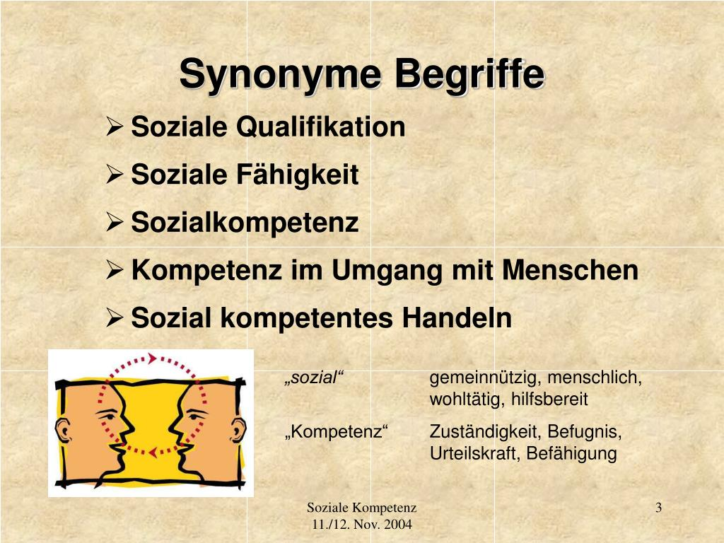Synonyme Begriffe