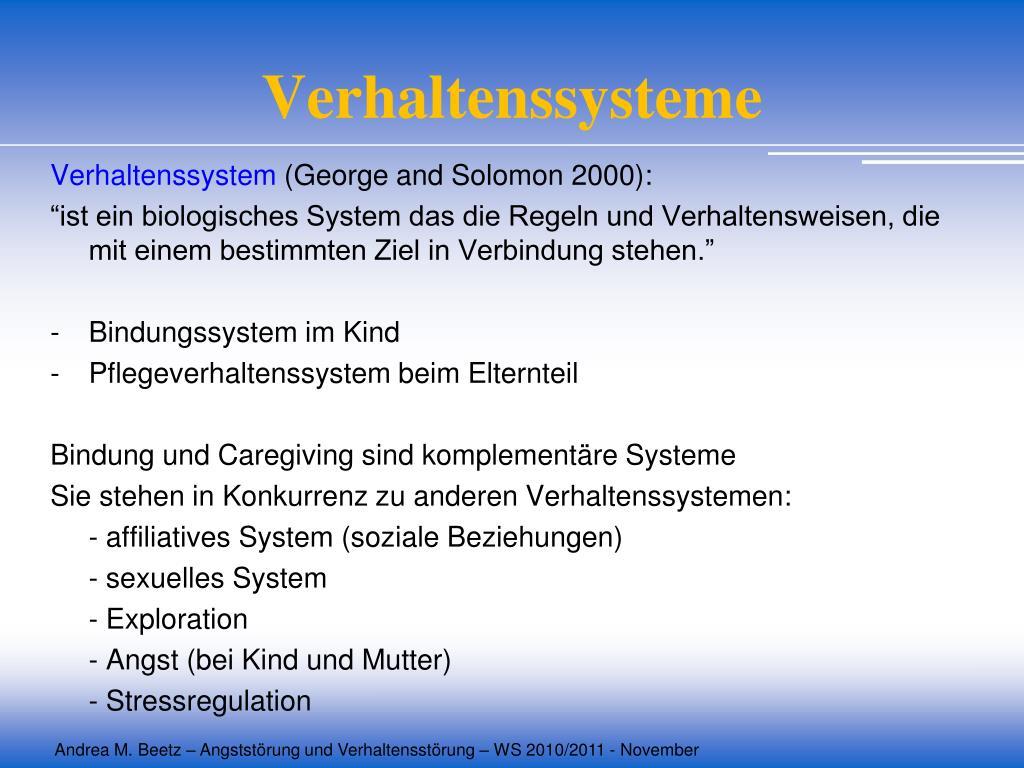 Verhaltenssysteme