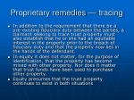 proprietary remedies tracing15