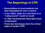 the beginnings of cpr