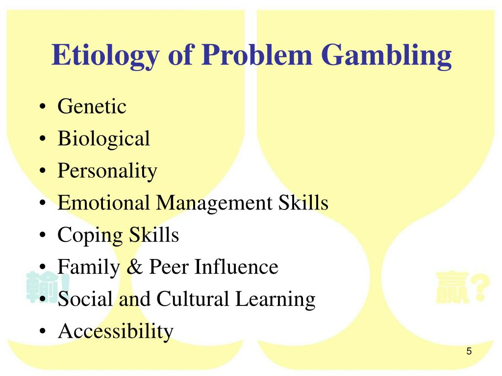What Is Problem Gambling