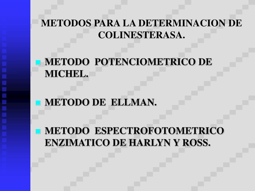 PPT - Inhibidores de la Colinesterasa PowerPoint