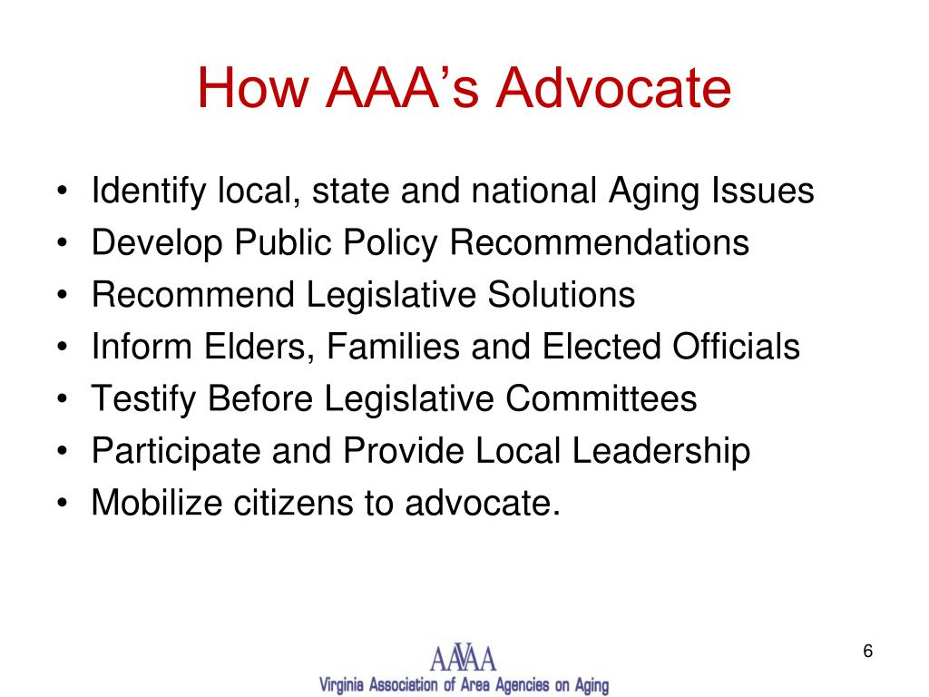 How AAA's Advocate
