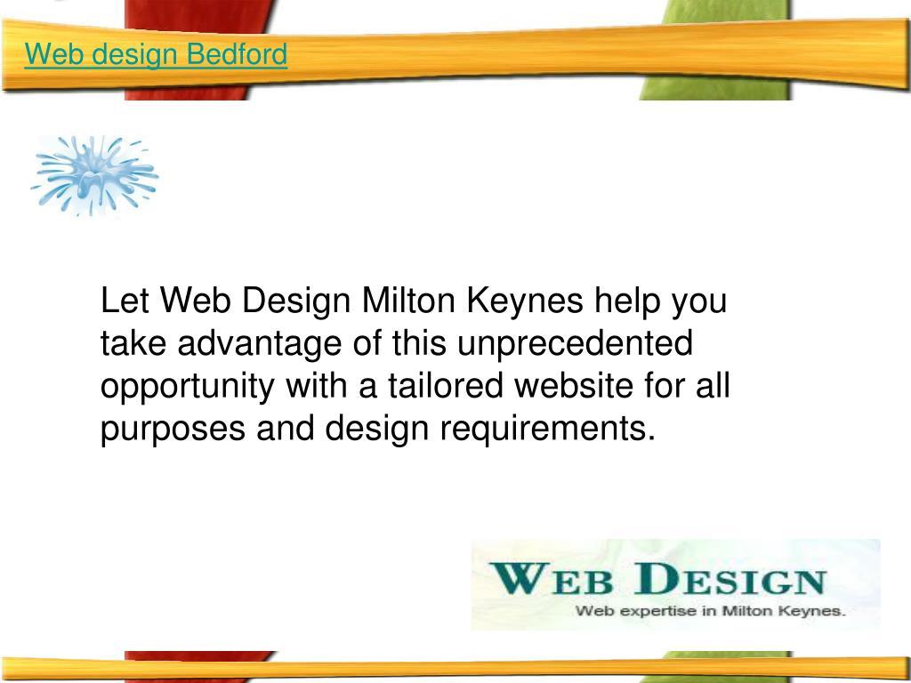 Web design Bedford