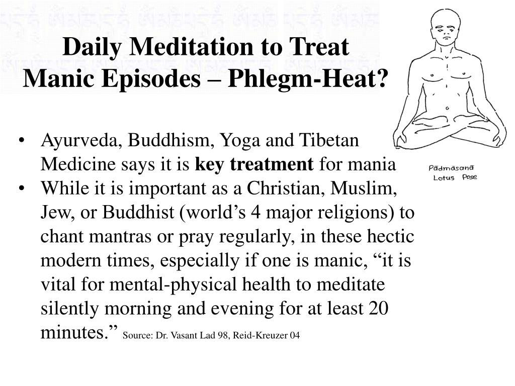 Daily Meditation to Treat