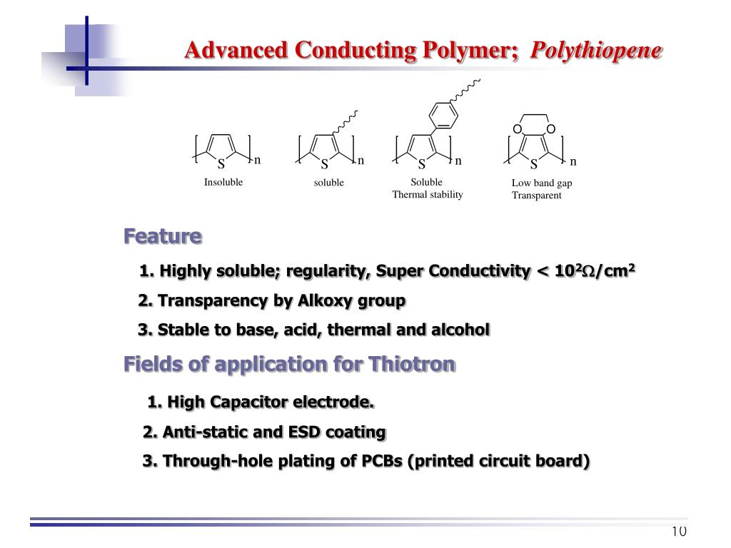Advanced Conducting Polymer;