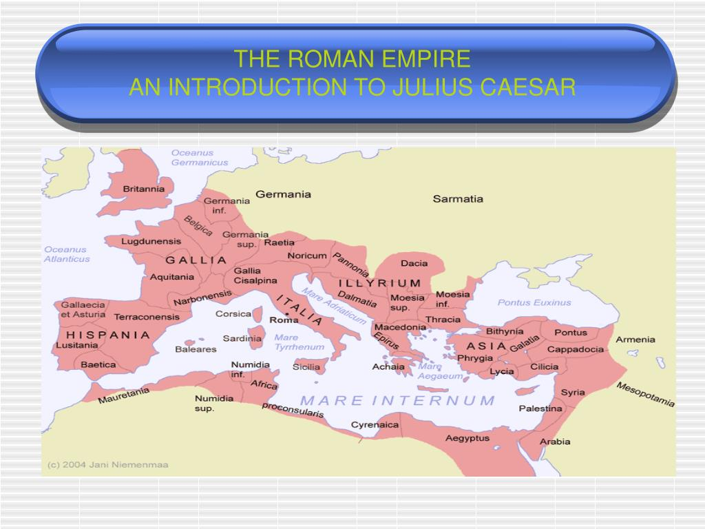 an introduction to the history of julius caesar Think of this as a general introduction to julius caesar we discuss a lot of myths and misconceptions that people might have about the man  talking history talking rome talking caesar rock on sit back and enjoy it i know i will alea iacta est  you're humble follower, craigbuddy.