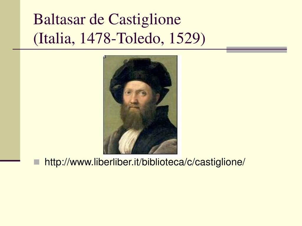 Baltasar de Castiglione