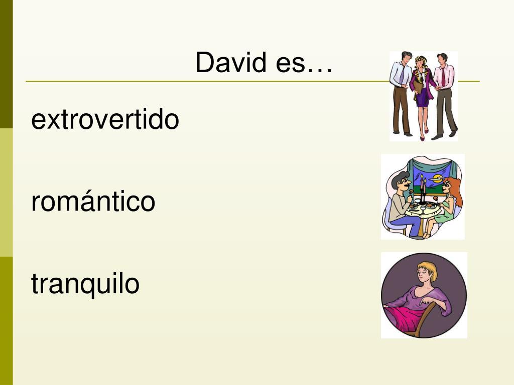David es…