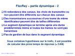 flexray partie dynamique 2