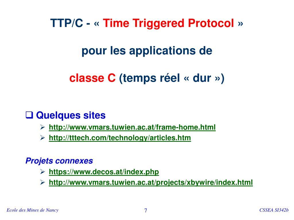 TTP/C - «