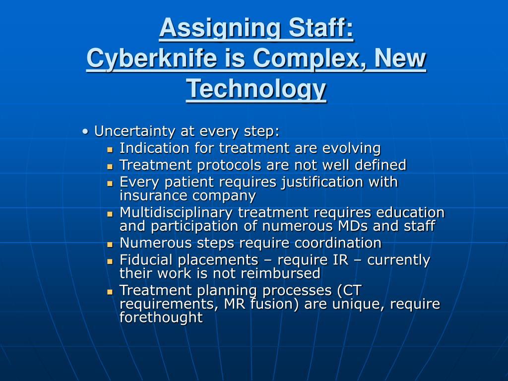 Assigning Staff: