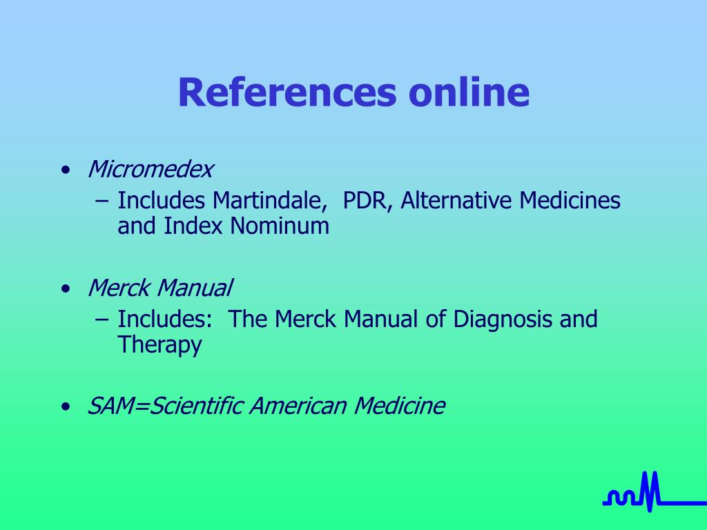 References online