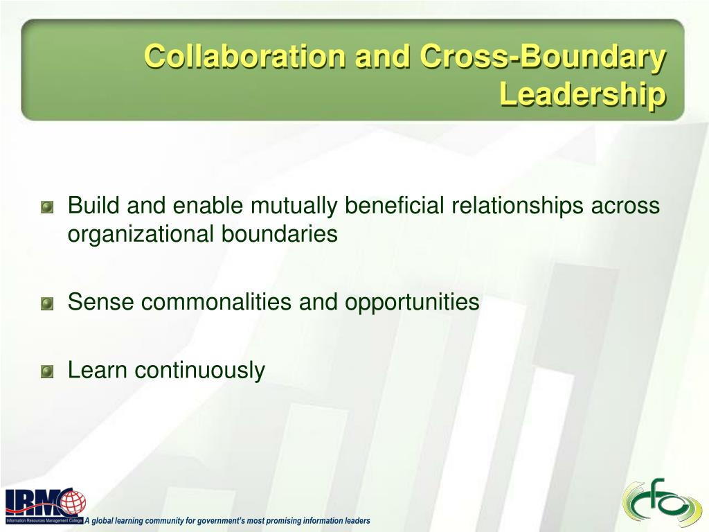 Collaboration and Cross-Boundary Leadership