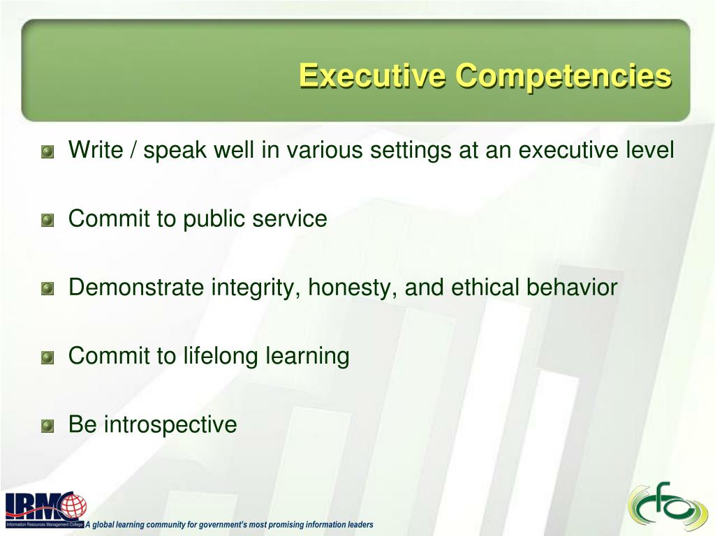 Executive Competencies