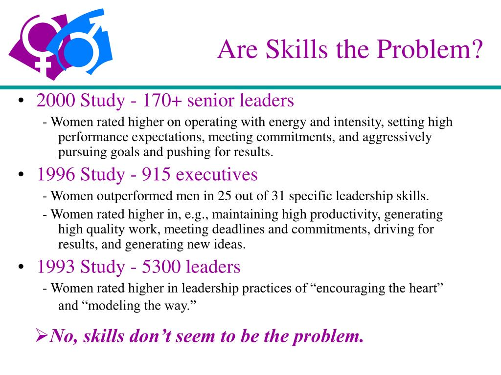 Are Skills the Problem?