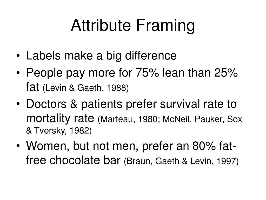 Attribute Framing