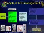 principle of acs management58