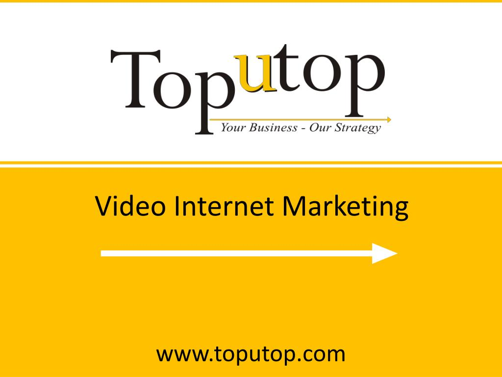 Video Internet Marketing