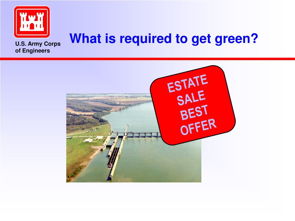 What is required to get green?