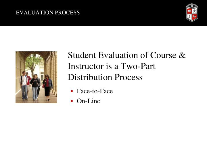 Evaluation process1