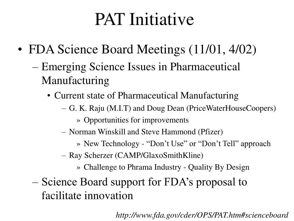 PAT Initiative