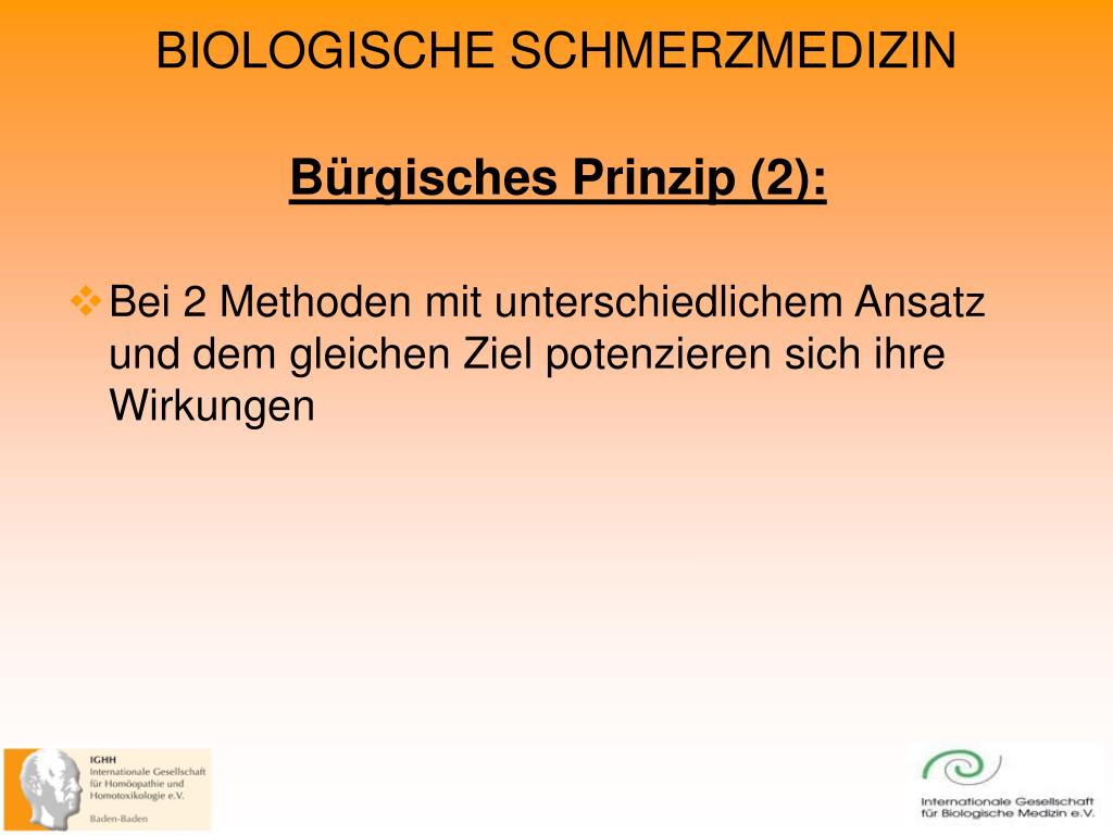 Bürgisches Prinzip (2):
