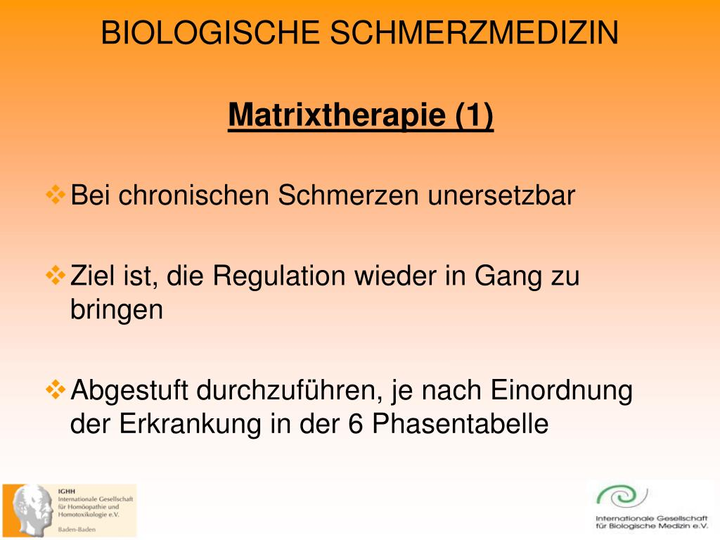 Matrixtherapie (1)