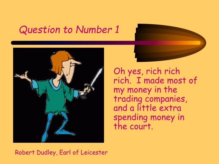 Question to Number 1