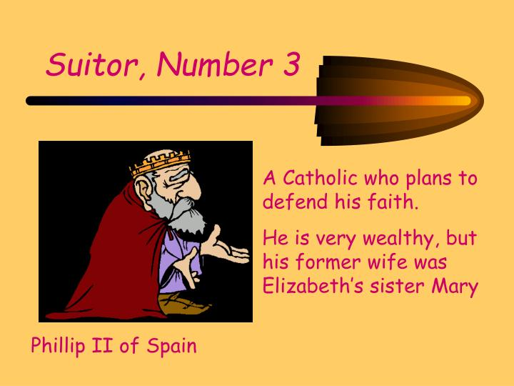 Suitor, Number 3