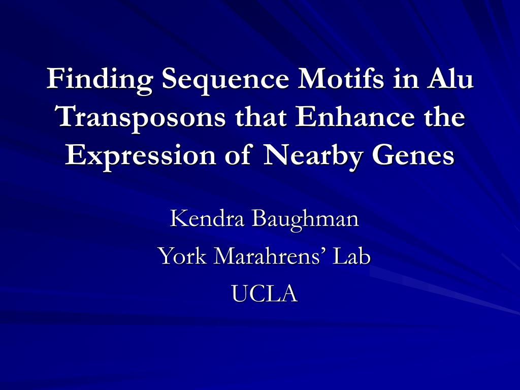 kendra baughman york marahrens lab ucla