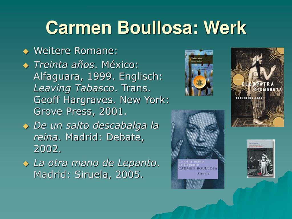 Weitere Romane: