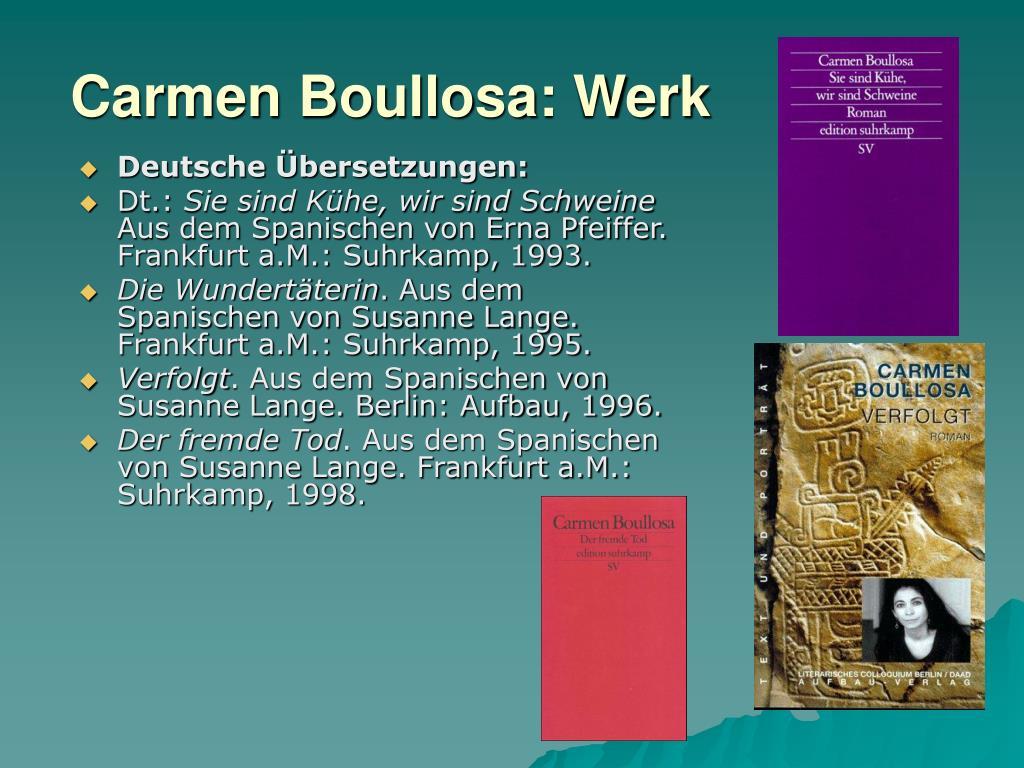 Deutsche Übersetzungen: