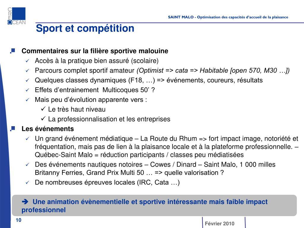 Sport et compétition