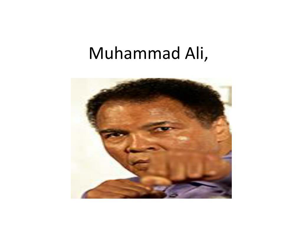 Muhammad Ali,