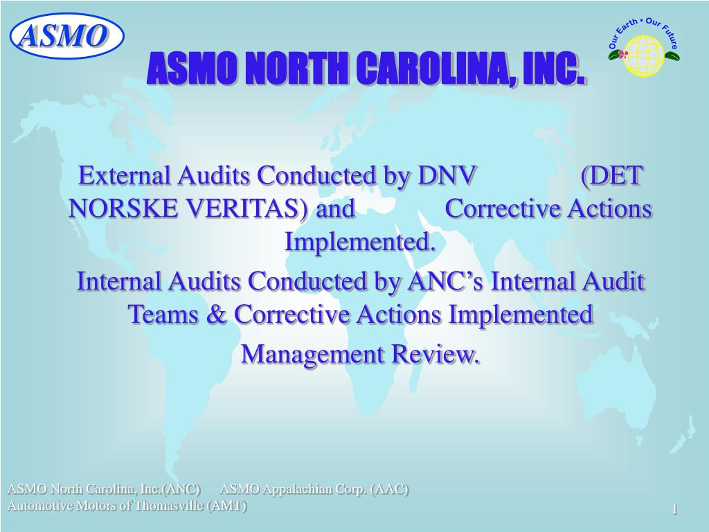 ASMO NORTH CAROLINA, INC.