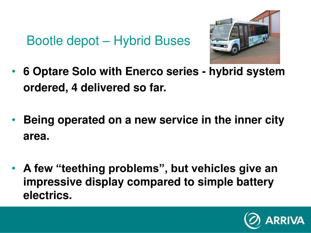 Bootle depot – Hybrid Buses