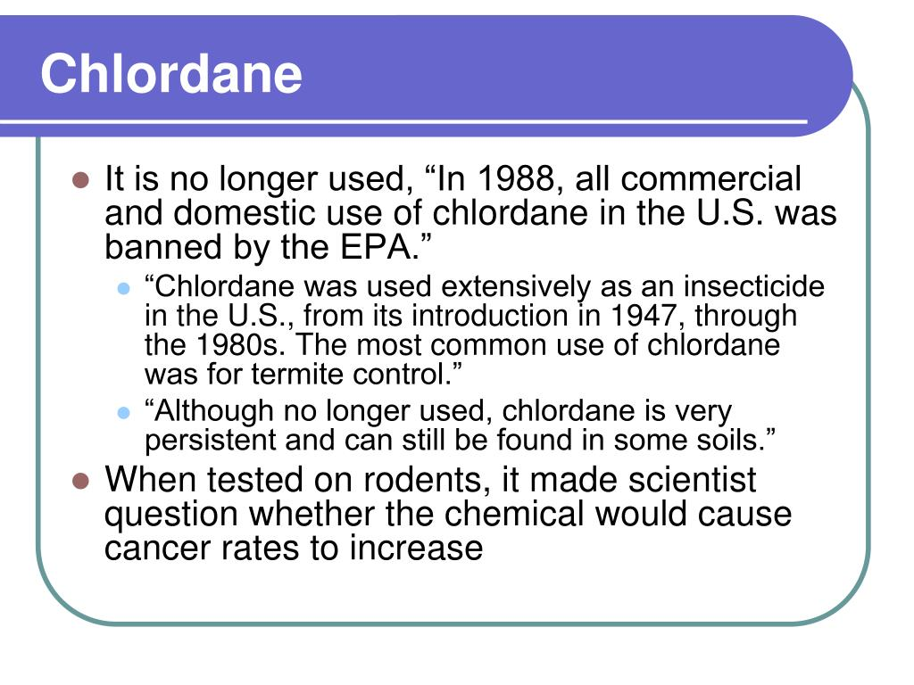 Chlordane