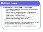 related laws16