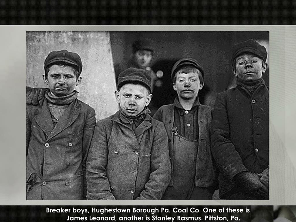 Breaker boys, Hughestown Borough Pa. Coal Co. One of these is