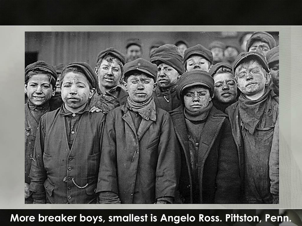 More breaker boys, smallest is Angelo Ross. Pittston, Penn.