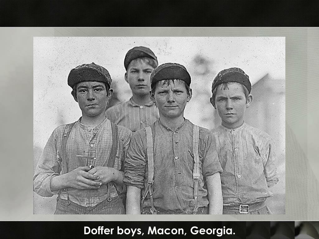 Doffer boys, Macon, Georgia.