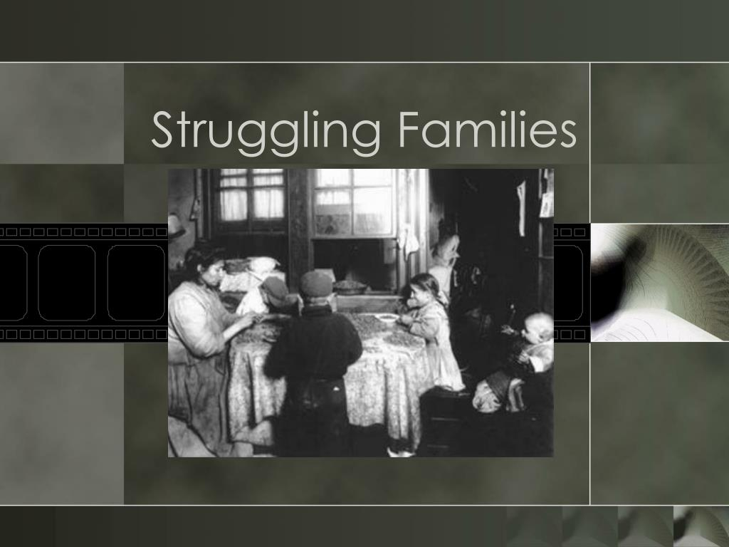Struggling Families