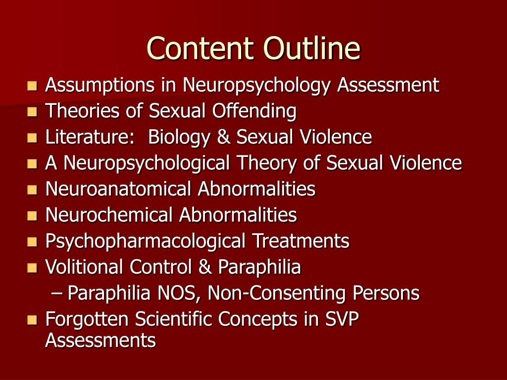 Content Outline
