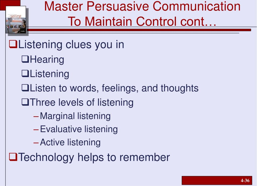 Master Persuasive Communication